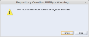 Repository Creation Utility - Warning_011
